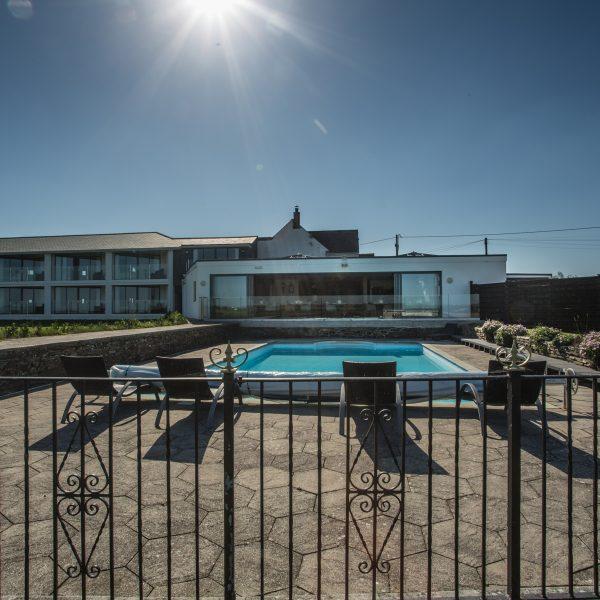 Pickwick Inn Padstow Swimming Pool